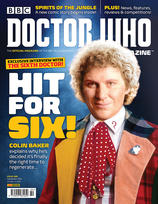 Doctor Who Magazine Issue 489