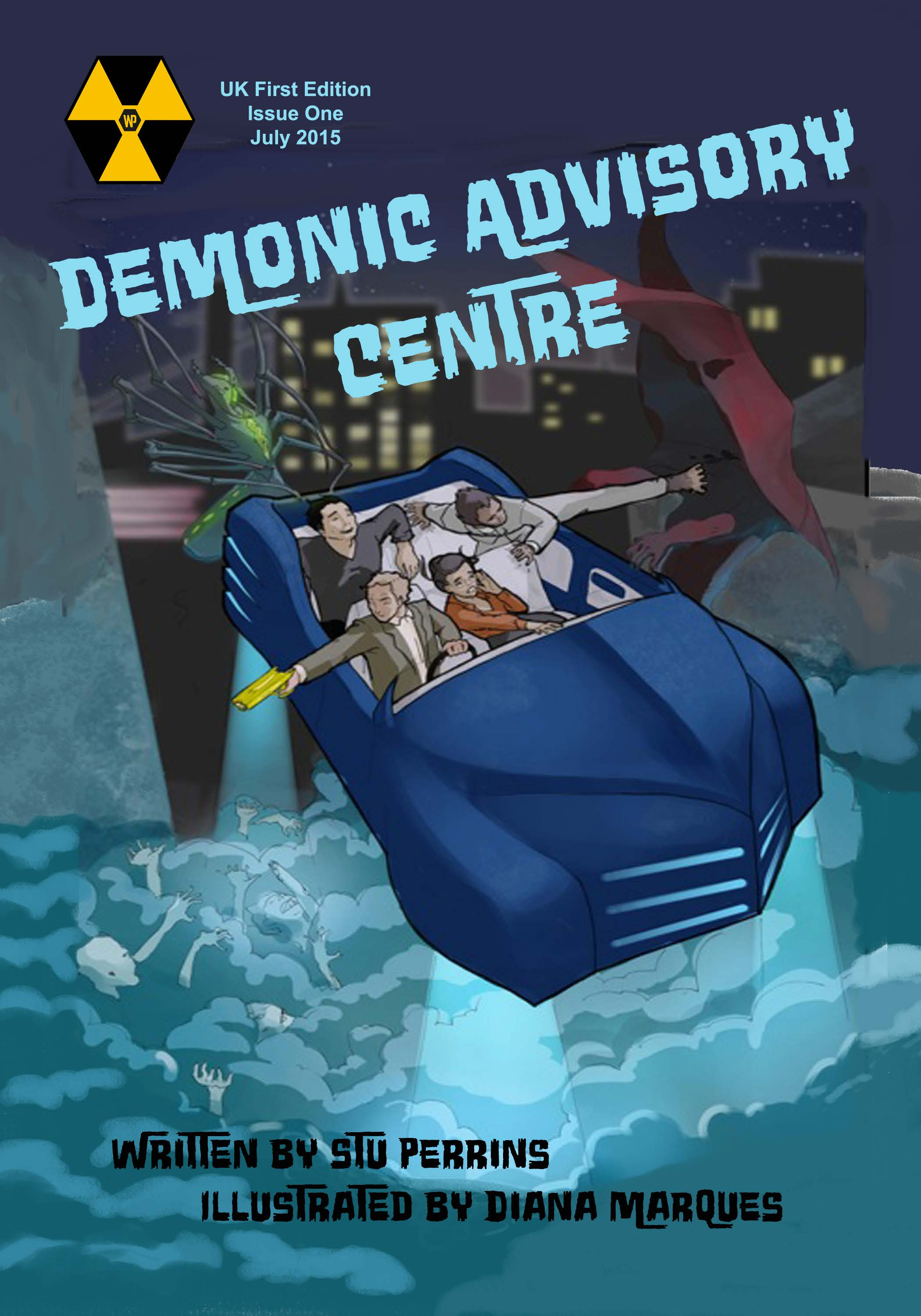 Demonic Advisory Centre #1 - Cover
