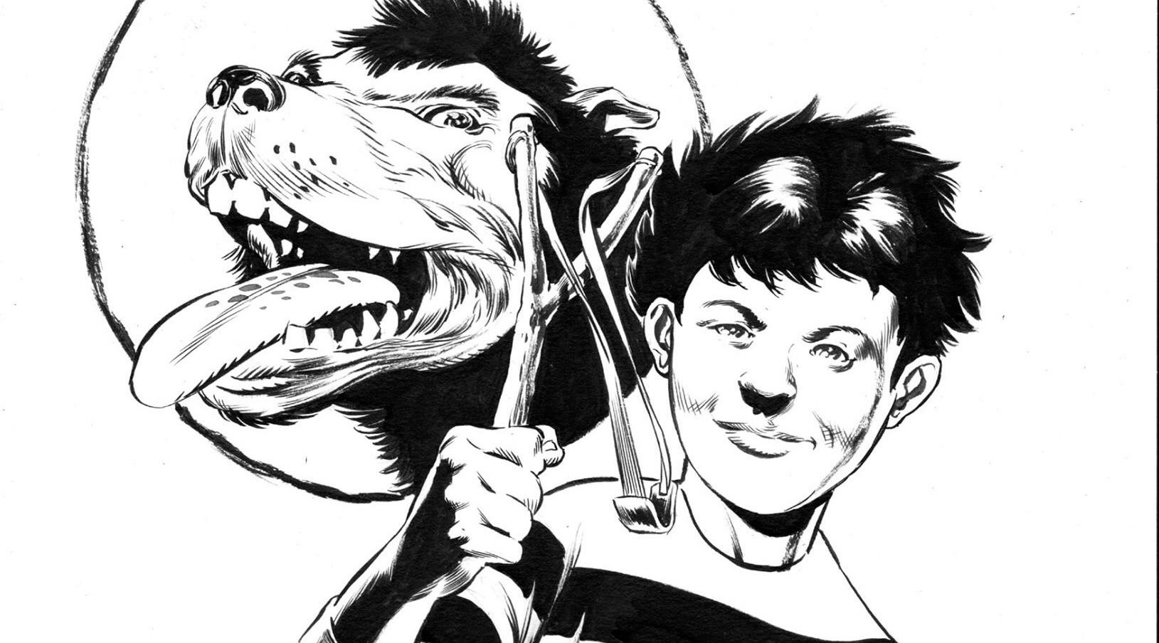 Dennis the Menace and Gnasher by Mike Perkins - SNIP
