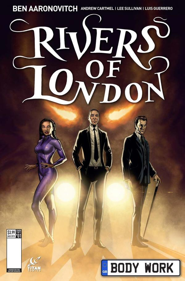 Rivers of London #1 - Cover