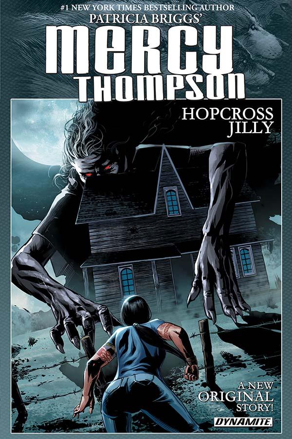 Mercy Thompson: Hopcross Jilly Trade Paperback Cover