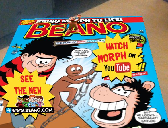 Morph on The Beano