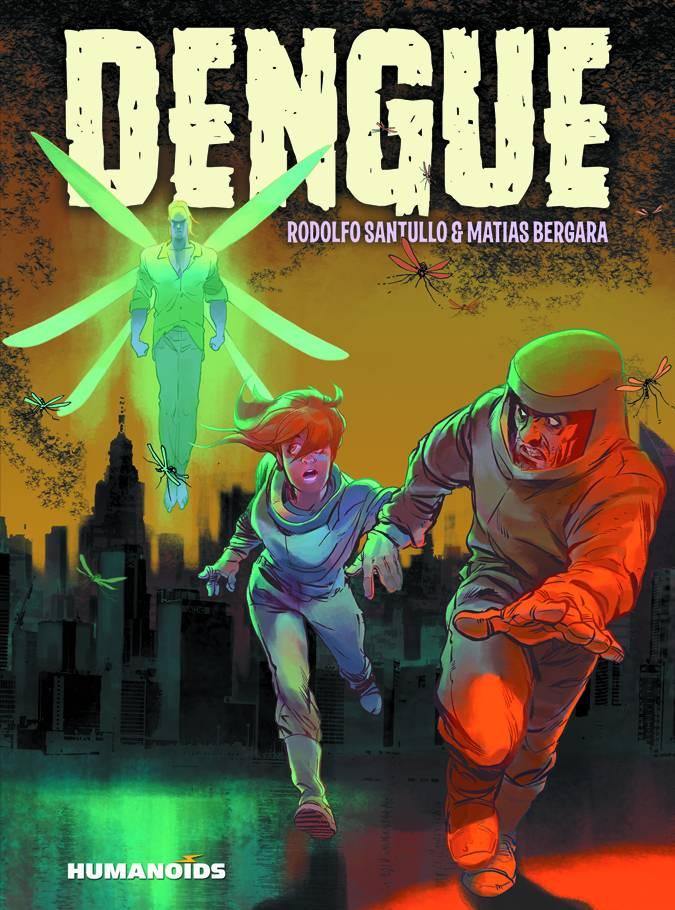 Dengue Hard Cover Graphic Novel