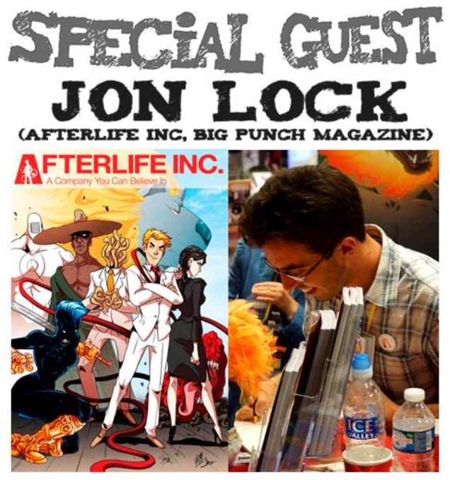 Awesome Comics Podcast Episode 6 - Jon Lock