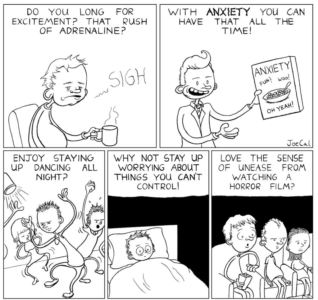 "Dirty Rotten Comics Volume 5 - ""Anxiety"" by Joe Callanan"
