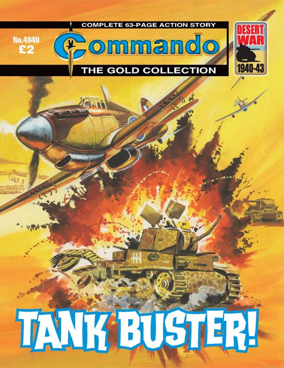 Commando No 4840 – Tank Buster