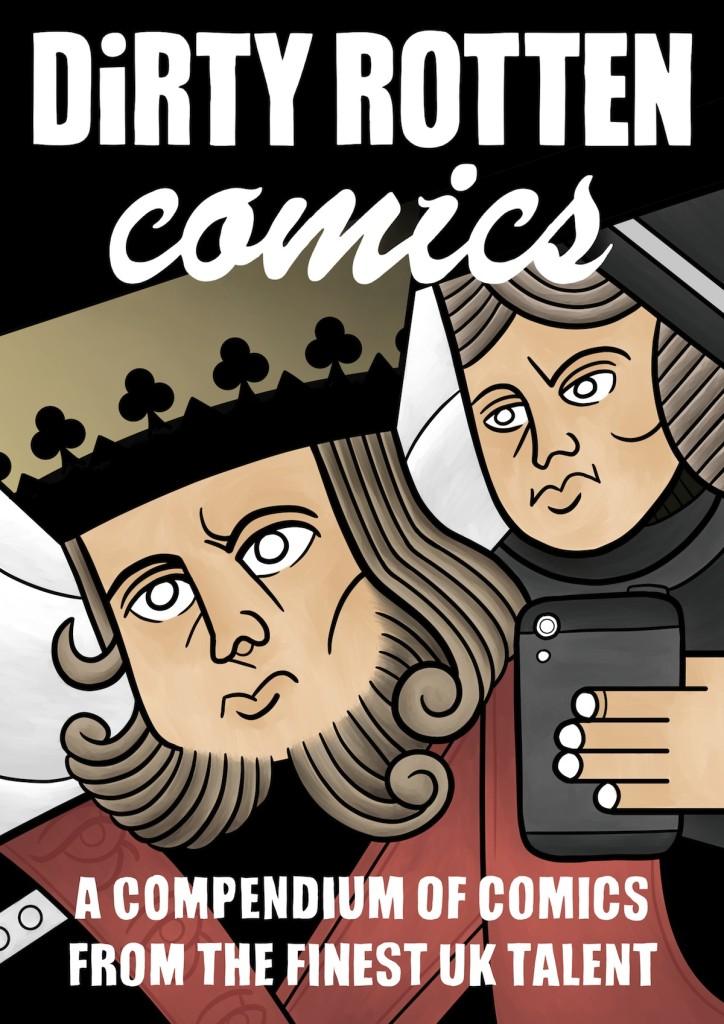 Dirty Rotten Comics #5 - Cover