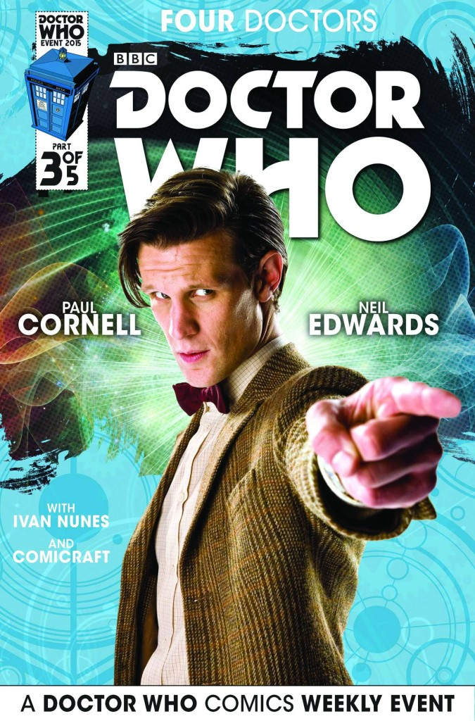 Doctor Who 2015 Four Doctors #3 Subscription Cover