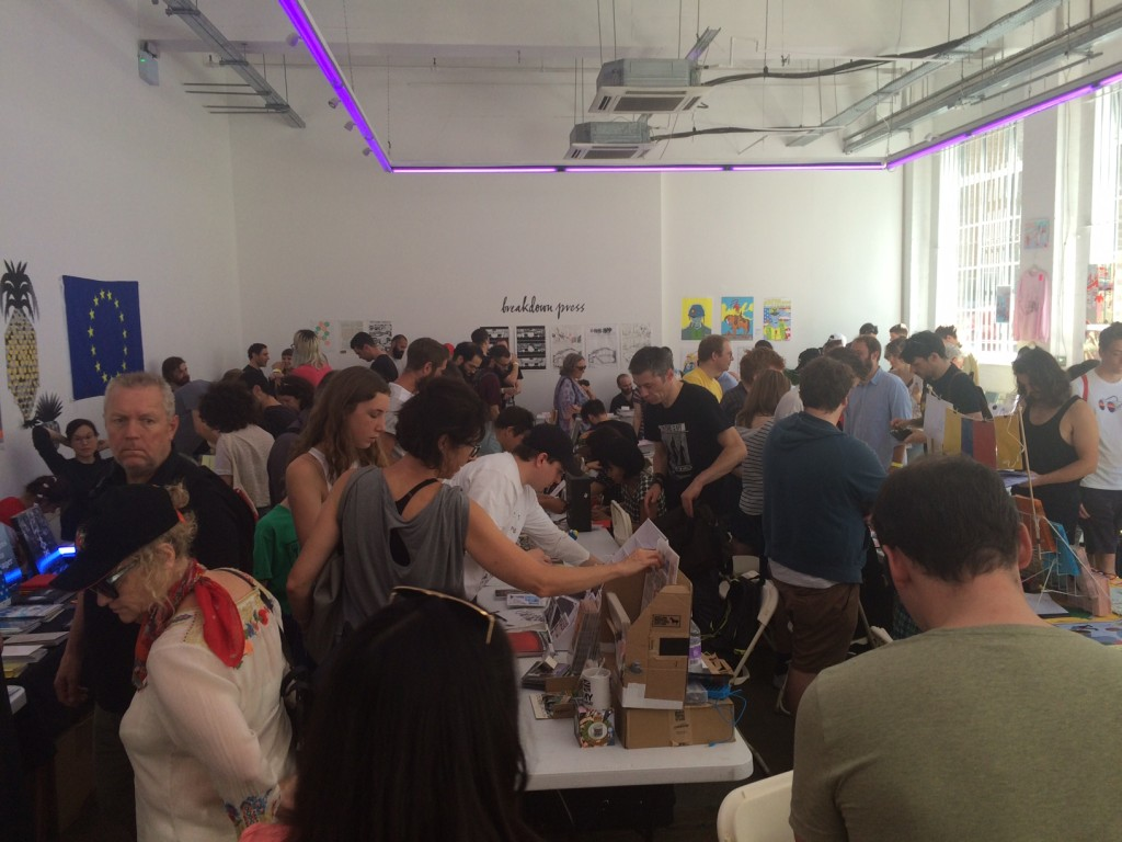 As the day progressed, more creators joined the merry throng at the event. Photo: Tony Esmond