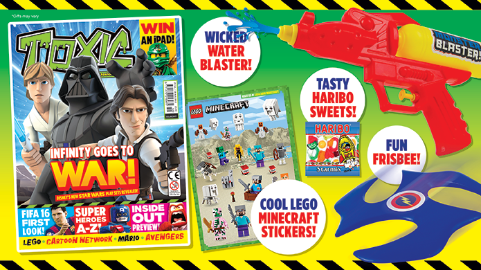 TOXIC Magazine Promotion - August 2015