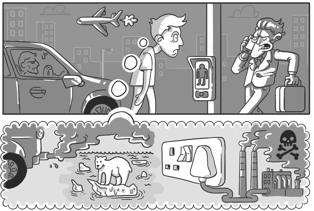 "Dirty Rotten Comics Volume 5 - ""Technophobe"" by James Wragg"
