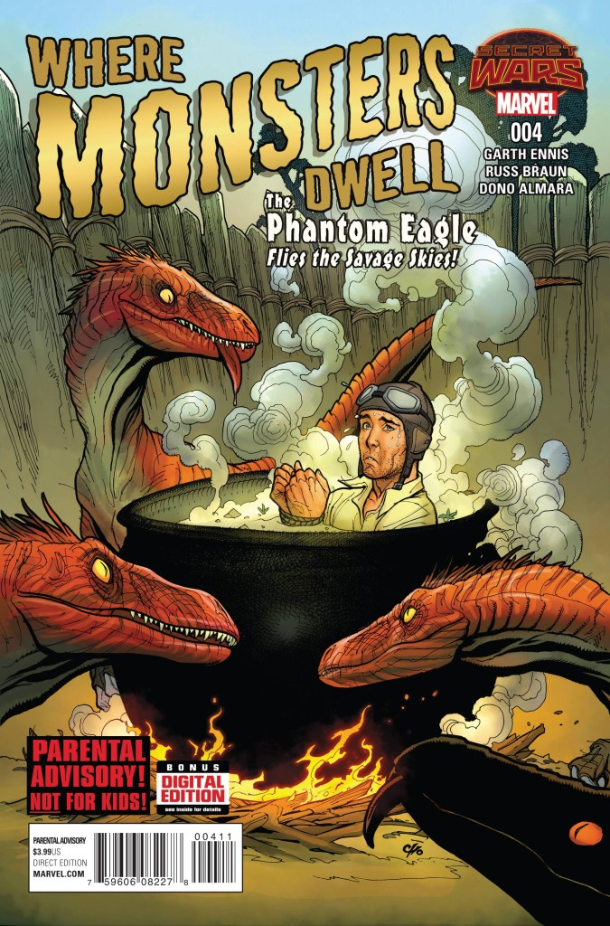 Where Monsters Dwell #4