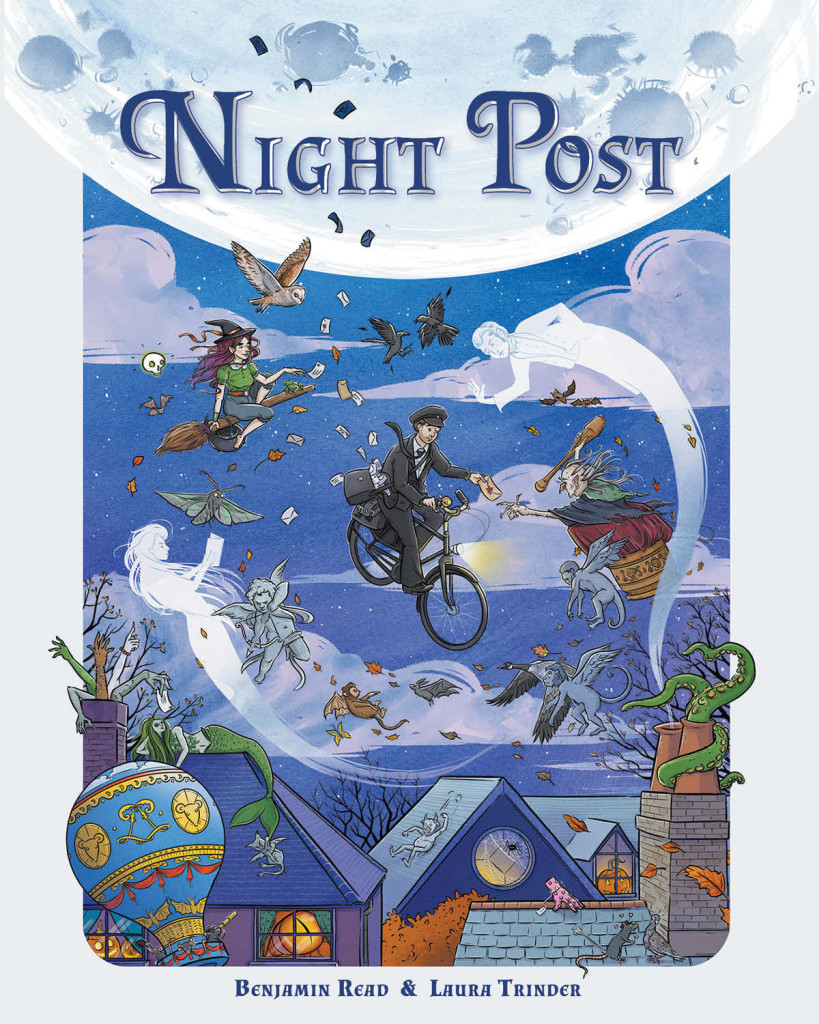Night Post by Benjamin Read and Laura Trinder - Cover