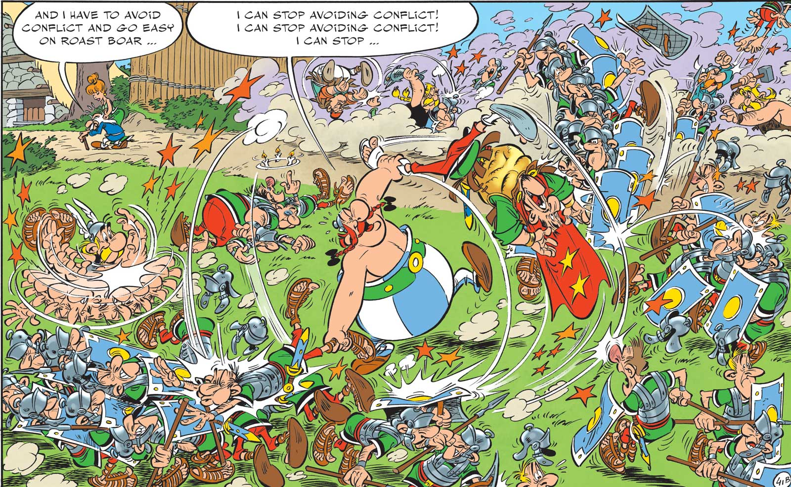 Art from Asterix and the Missing Scroll