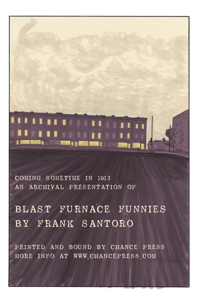 Blast Furnace Funnies by Frank Santoro