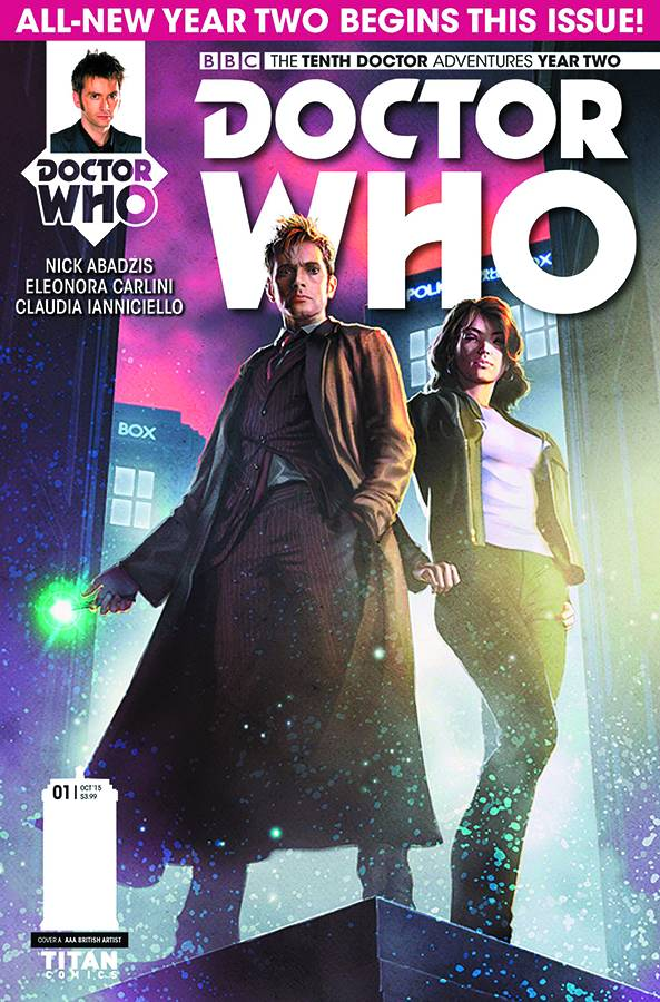 Doctor Who: The Tenth Doctor Year Two #1 REG