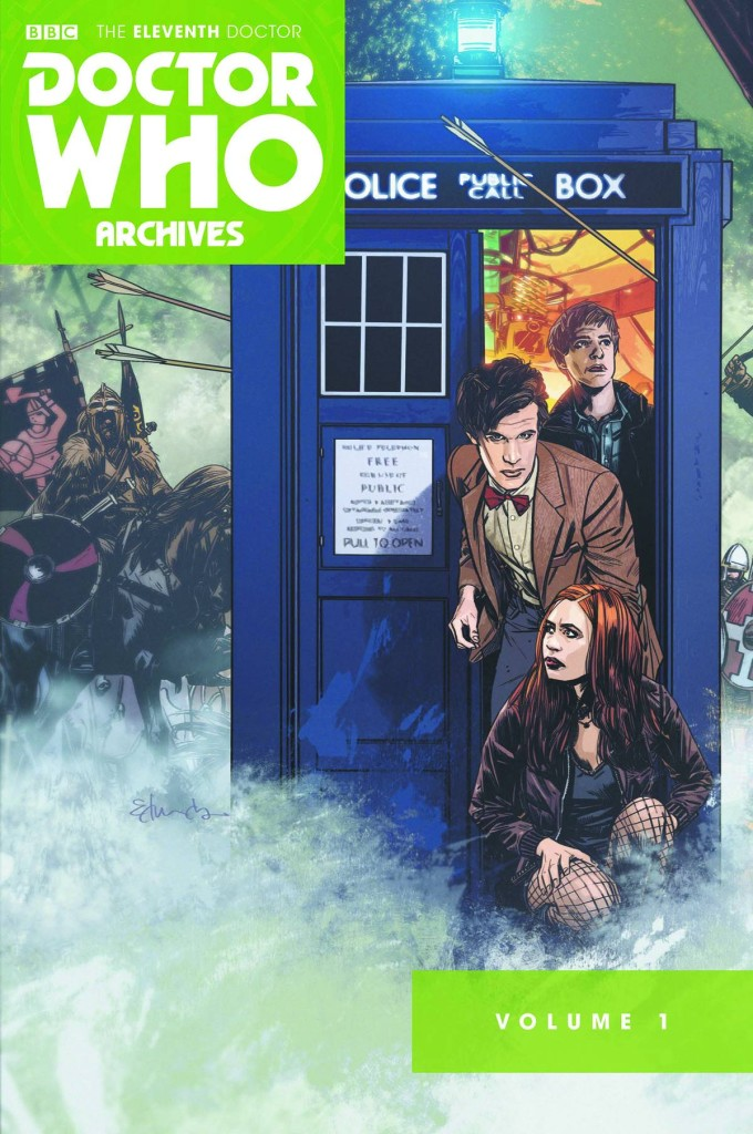 Doctor Who: The Eleventh Doctor Archives Omnibus Trade Paperback Volume 1