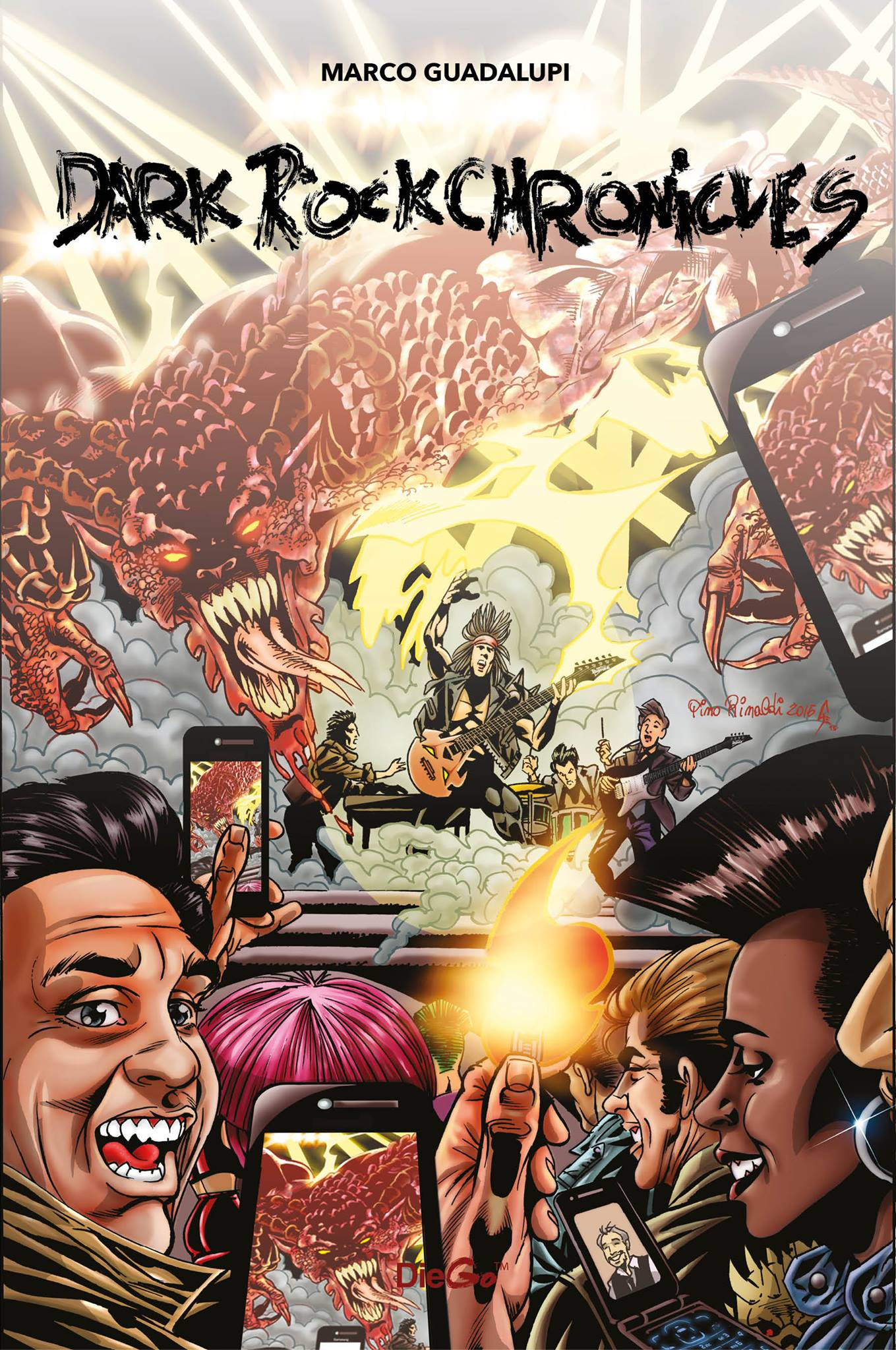 Dark Rock Chronicles - Cover