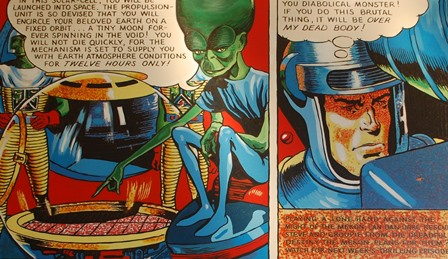 Dan Dare and the Mekon by George Snow