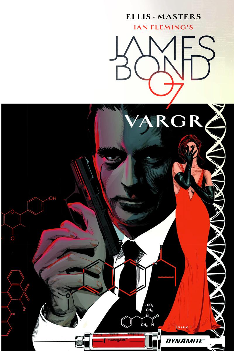 James Bond #1 Cover - DIncen Mooney