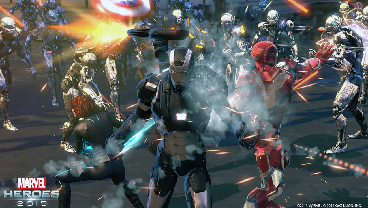 Marvel Heroes 20165 - War Machine