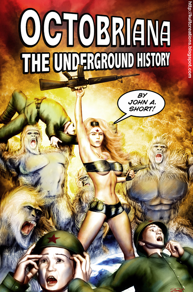 Octobriana: The Underground History - Cover