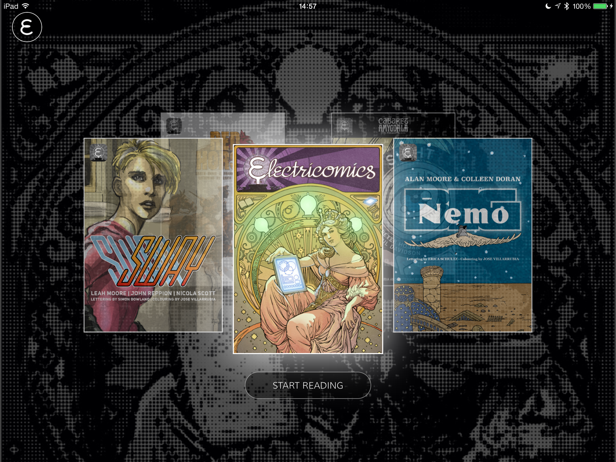 Electricomics - Screenshot