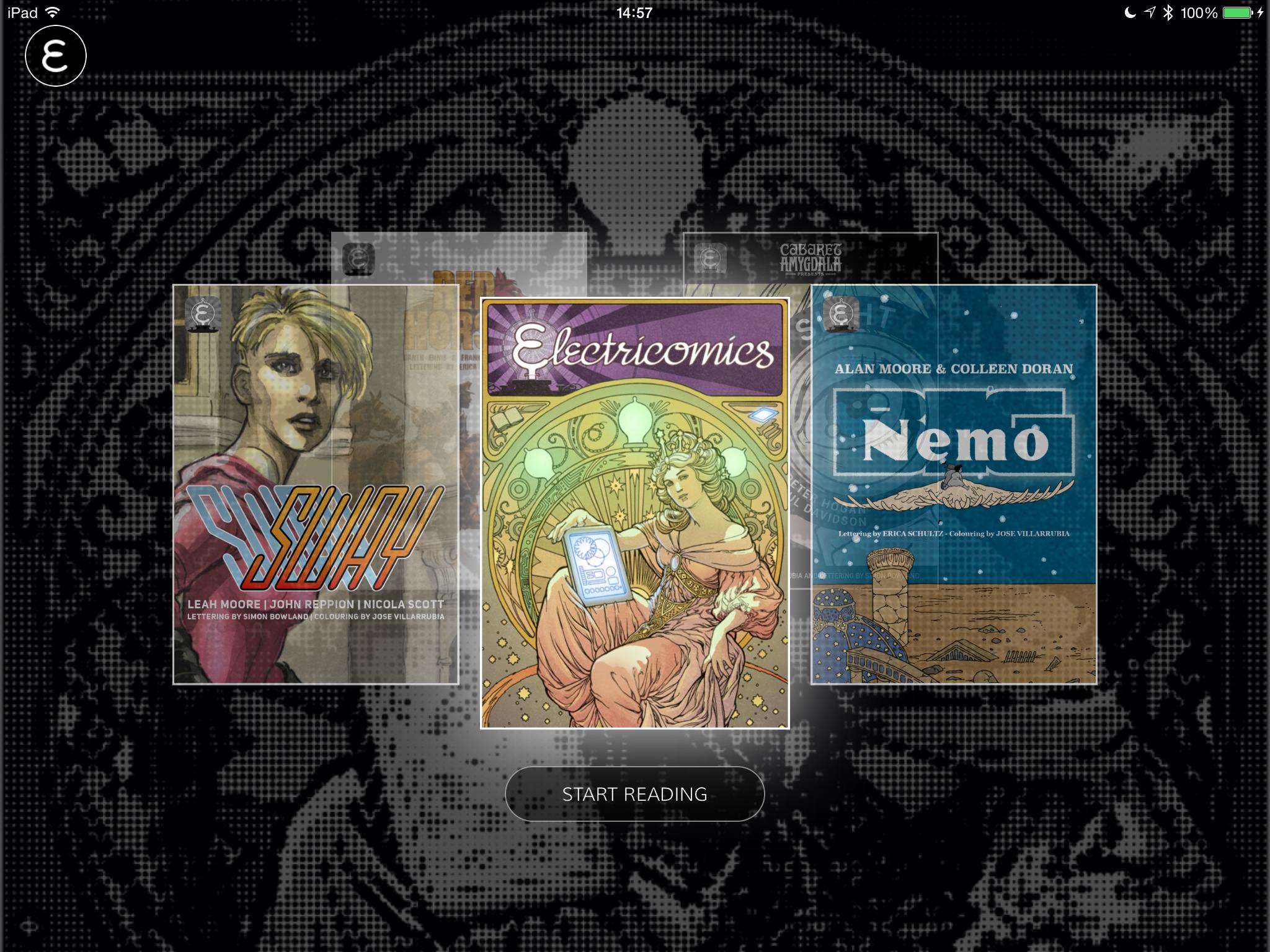 Electricomics - Screenshot