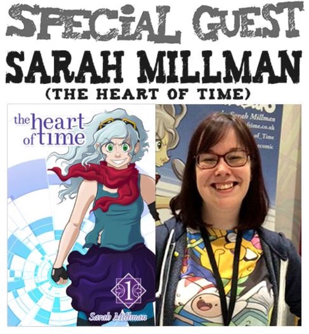 Awesome Comics Podcast Episode 11 - Sarah Millman