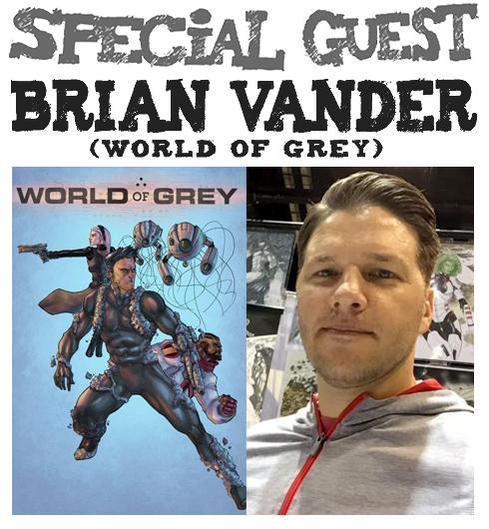 Awesome Comics Podcast Episode 14 Brian Vander