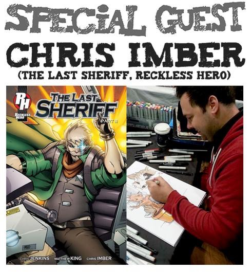 Awesome Comics Podcast Episode 16: Chris Imber