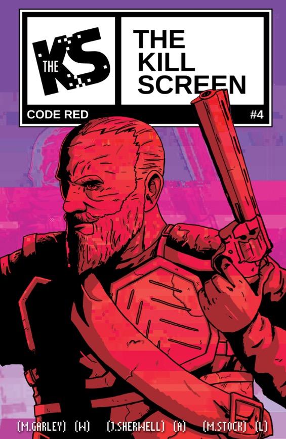 Kill Screen #4 - Cover