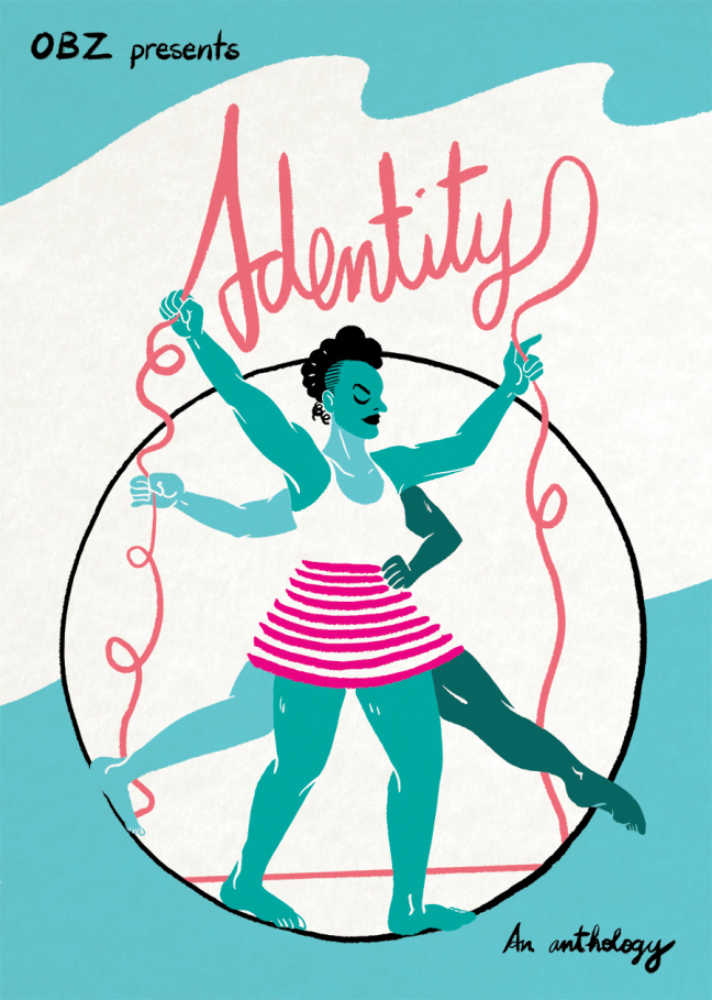 One Beat Zines: Identity - Cover