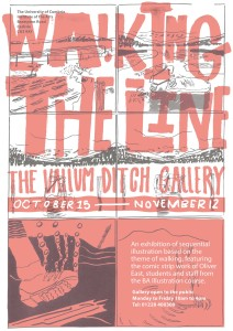 Walking The Line Poster