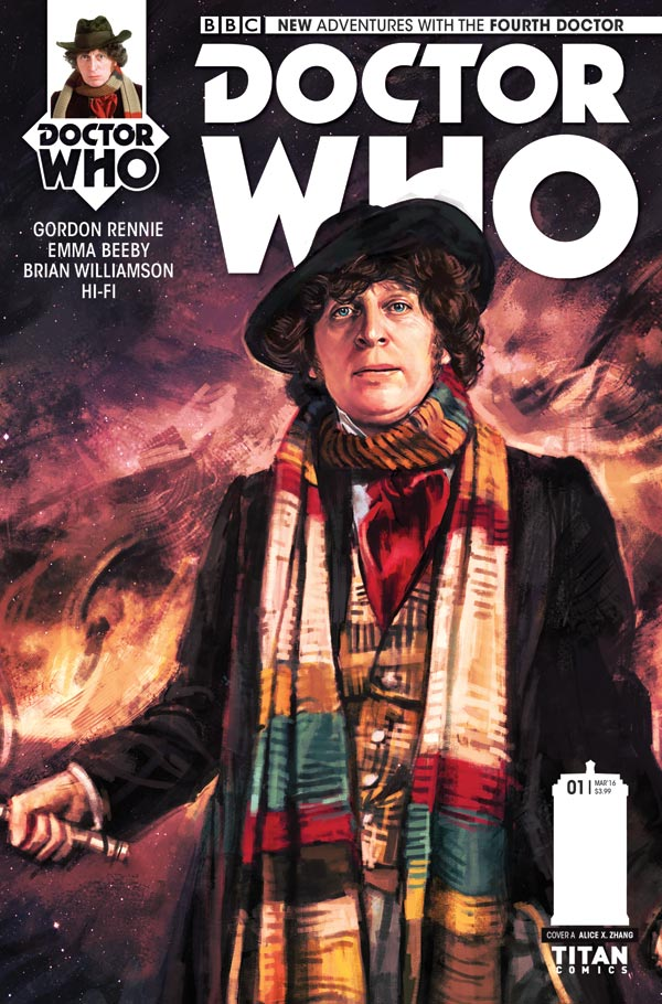 Doctor Who: The Fourth Doctor #1 - Cover A - Alice X Zhang
