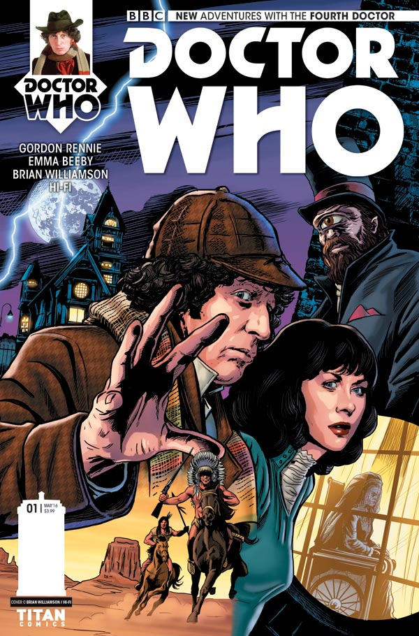 Doctor Who: The Fourth Doctor #1 - Cover C by Brian Williamson