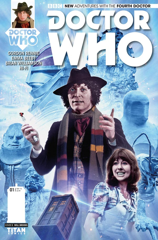 Doctor Who: The Fourth Doctor #1 - Cover B - Photo Variant