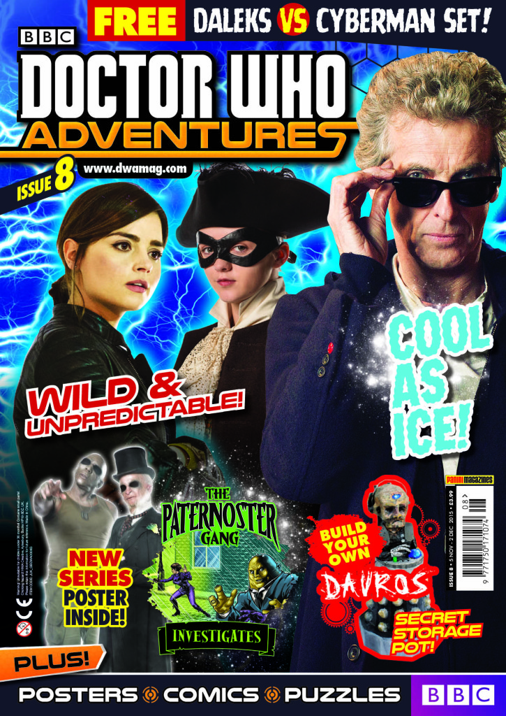 Doctor Who Adventures #8 - Cover