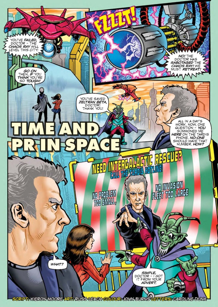 Doctor Who Adventures #8 - Strip Sample