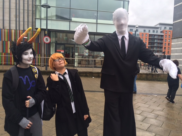 Thought Bubble 2015: Cosplayers. Photo: Tony Esmond