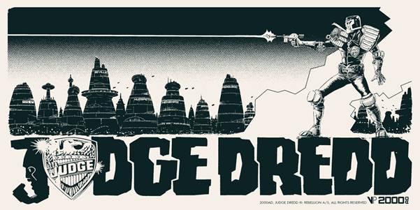Judge Dredd Poster from Vice Press