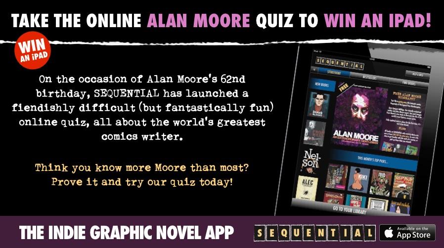 SEQUENTIAL Alan Moore Quiz
