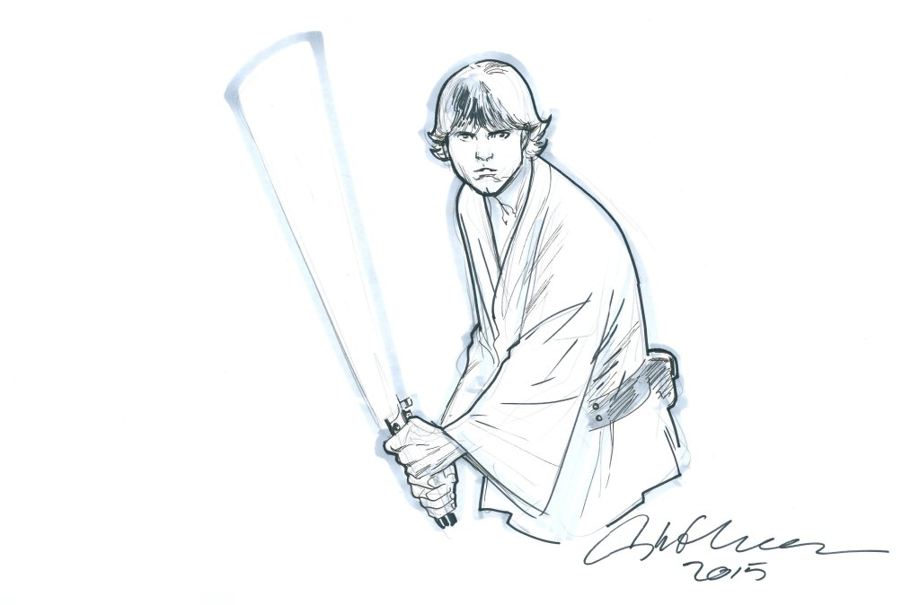 Luke Skywalker by Stuart Immonen