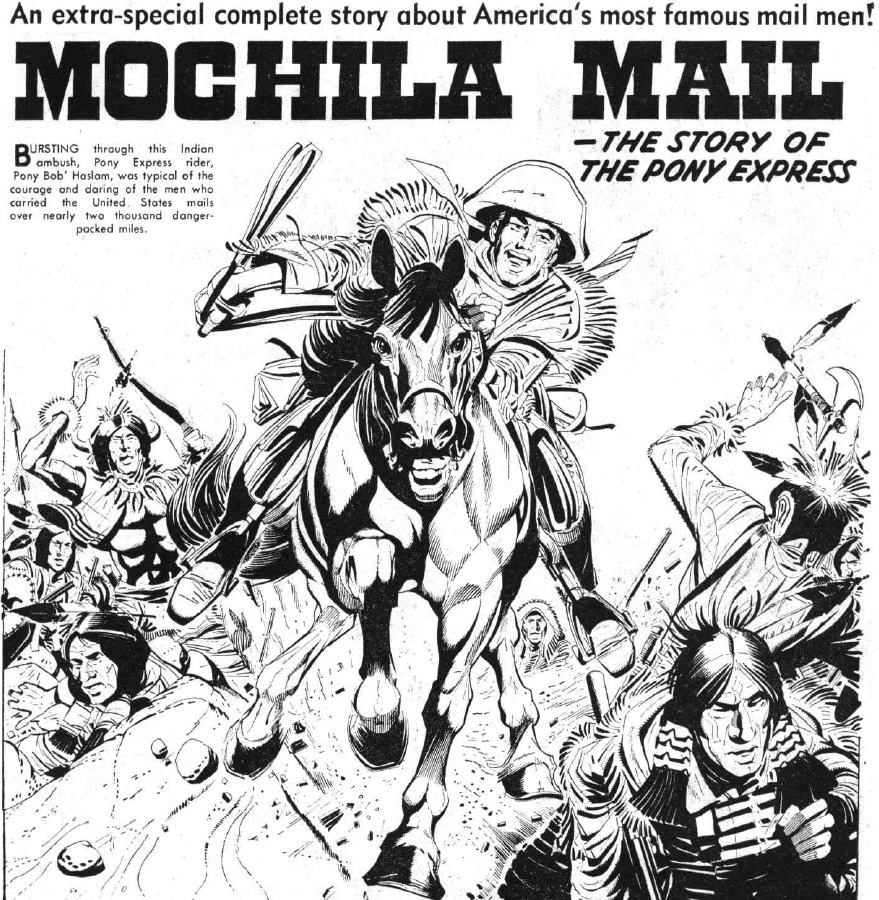 """The Hotspur Issue 752 """"Mochila Mail"""""""