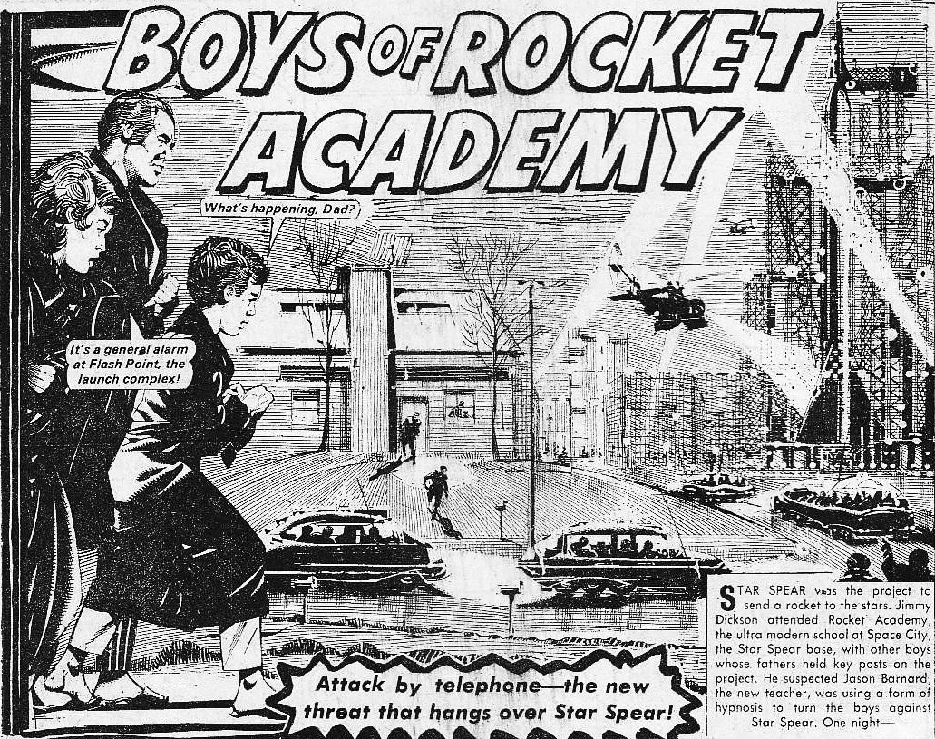 "The Hotspur Issue 872 ""Boys of Rocket Academy"""