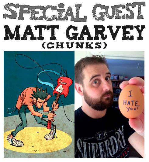 Awesome Comics Podcat Episode 22: Matt Garvey