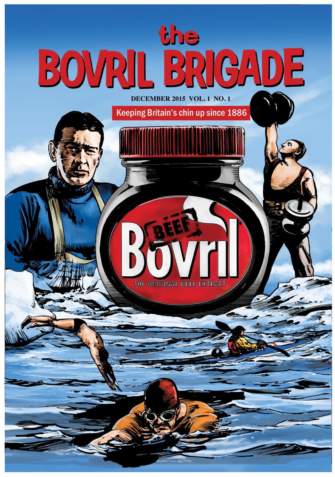 Bovril Brigade 2015 - Cover