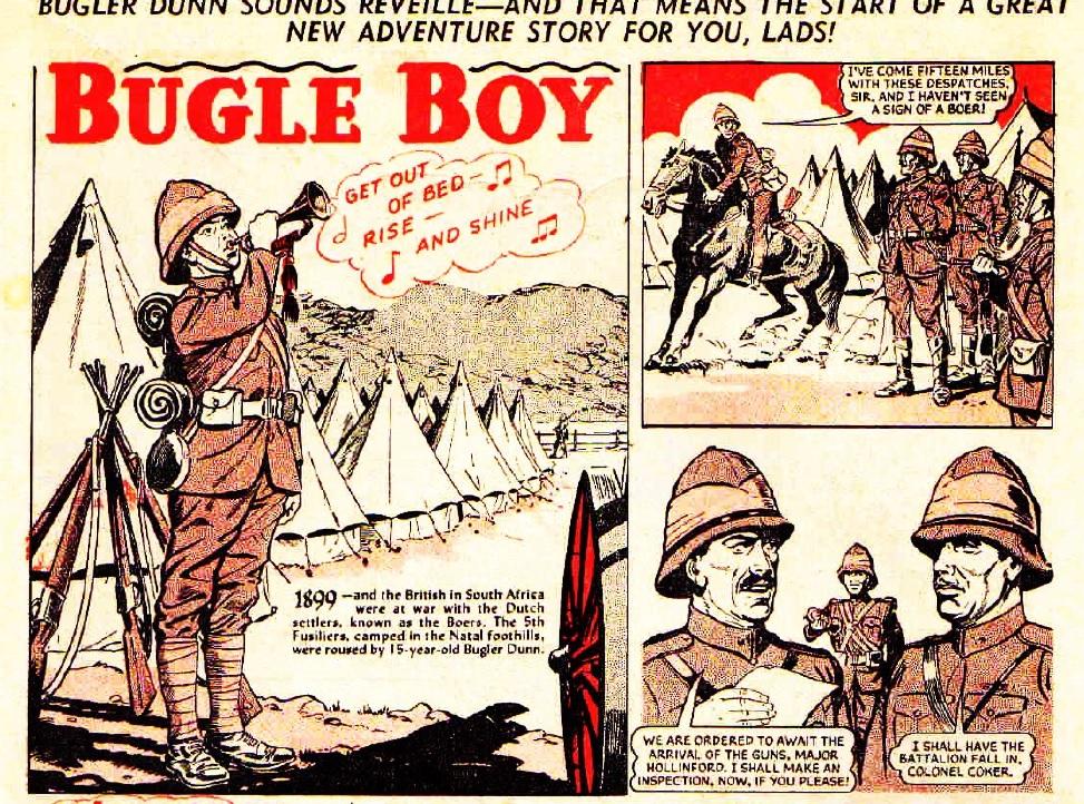 """The Hotspur 155: """"Bugle Boy"""""""