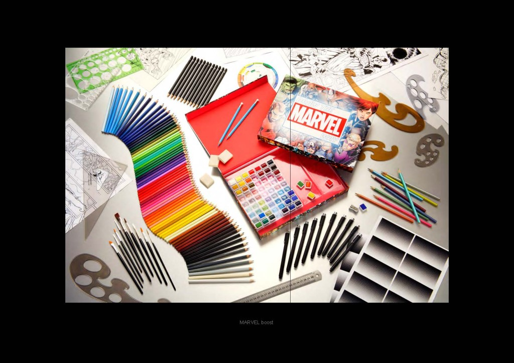 How To Draw The Marvel Way Drawing Kit