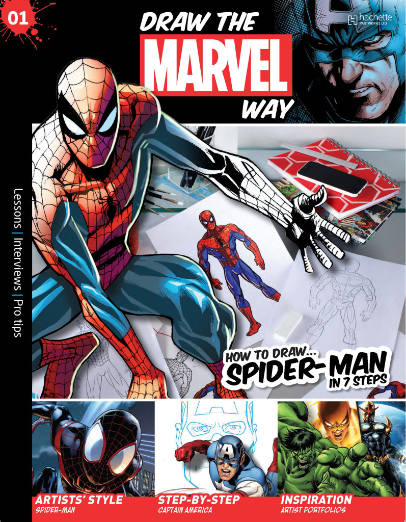 Draw The Marvel Way #1 - Cover